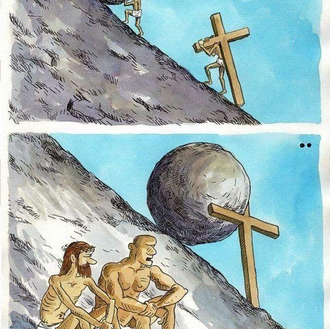 Sísifo y Jesucristo