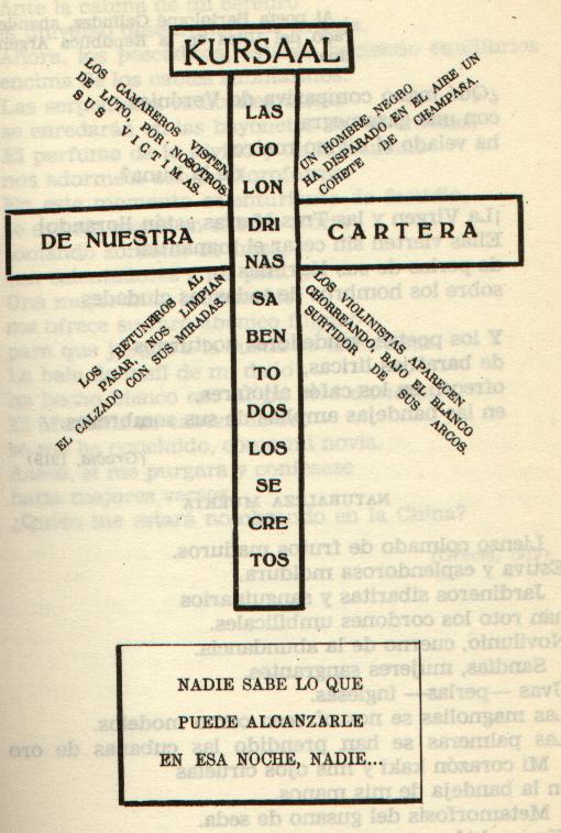 Poesía Visual de Isaac del Vando Villar