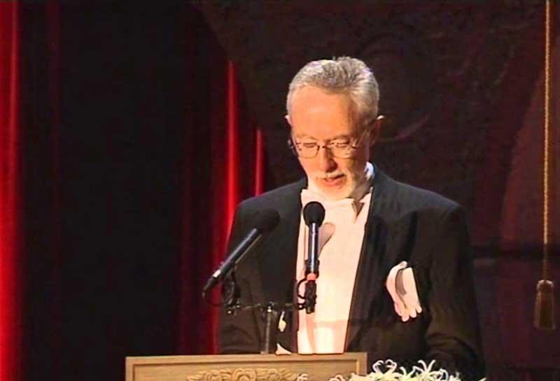 Él y su hombre, discurso de J. M. Coetzee al recoger el Premio Nobel del 2003