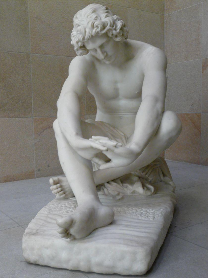La desesperación (1869) de Jean-Joseph Perraud (1819-1876)