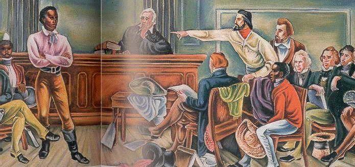 """Alegato de John Quincy Adams en el juicio del barco """"Amistad"""", celebrado del 24 de febrero al 1 de marzo 1841"""