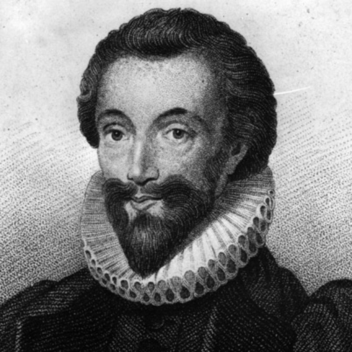 John Donne, poeta, Londres, 1572-1631