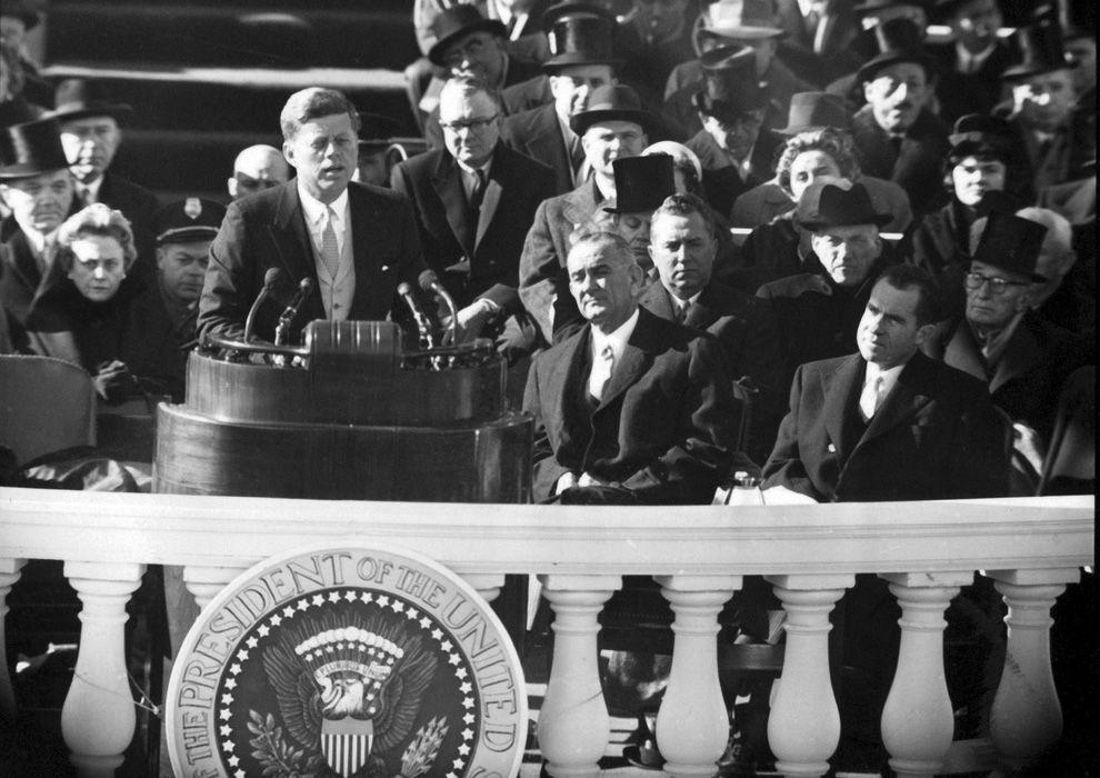 Discurso inaugural del Presidente John Fitzgerald Kennedy, Capitolio de los Estados Unidos, Washington D.C., 20 de enero de 1961
