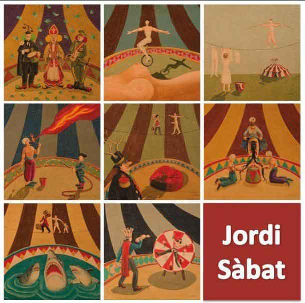 Jordi Sàbat, poeta visual