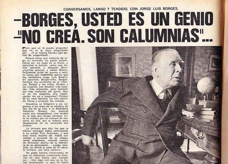 Jorge Luis Borges, Buenos Aires (1899-1986)