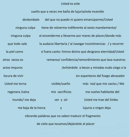 Poesía Visual de José Petronilo Amaya