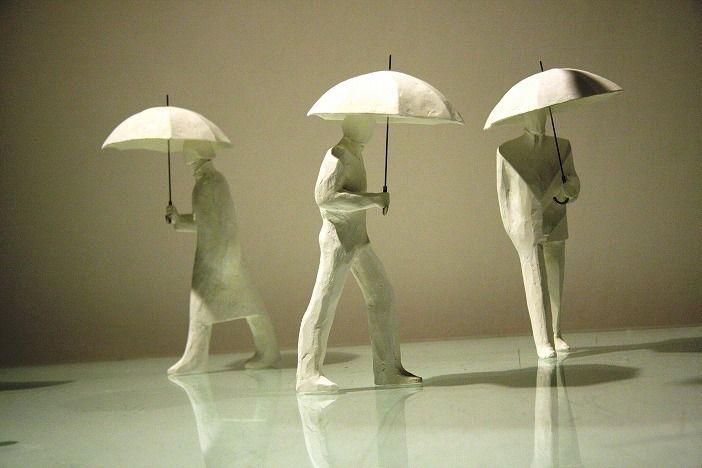 Escultura de Kazuhiko Tanaka