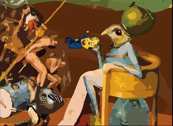 Kunst Bar de Steve Whitehouse (The Petrie Lounge), 2002