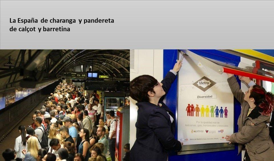 Carteles para tontos - La España de charanga y pandereta nº 45
