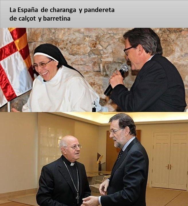 Con la Iglesia hemos topado - La España de charanga y pandereta nº 46