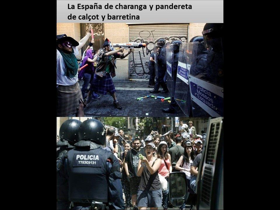 Jugando a policías y ladrones - La España de charanga y pandereta nº 67