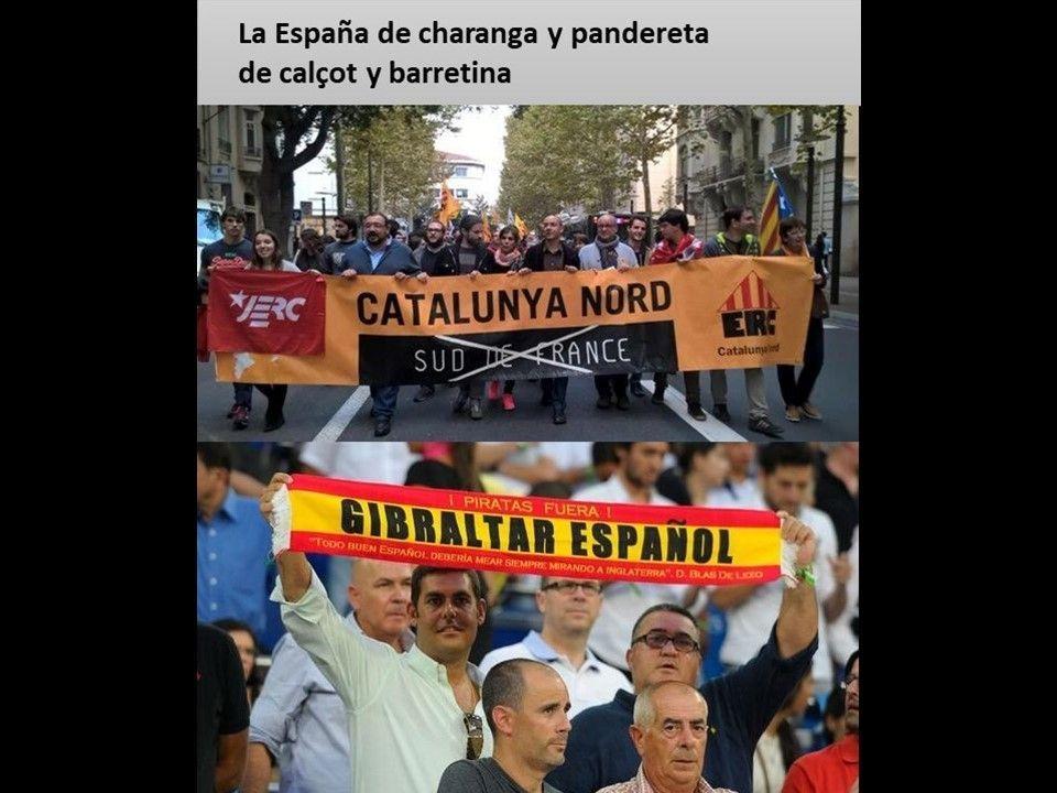 Esas líneas imaginarias - La España de charanga y pandereta nº 76