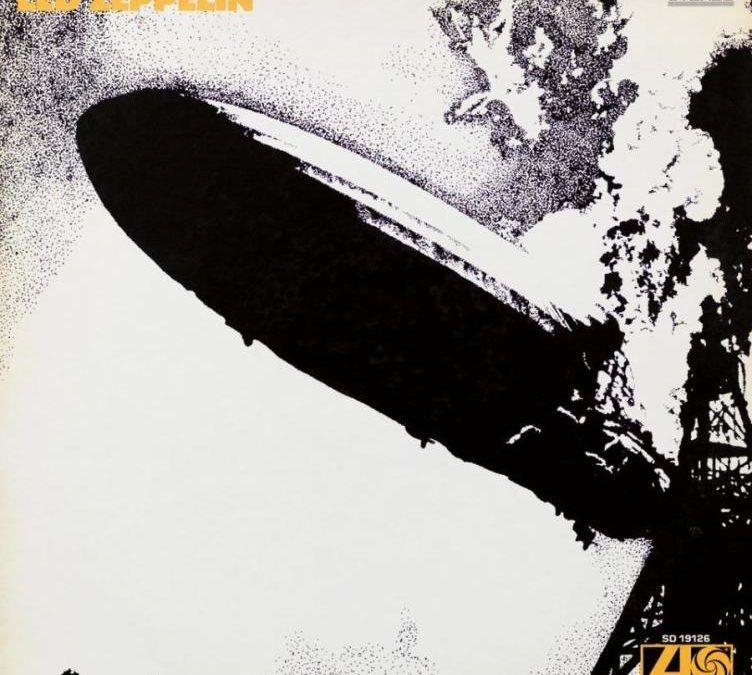 Portada disco Led Zeppelin, 1969, Led Zeppelin
