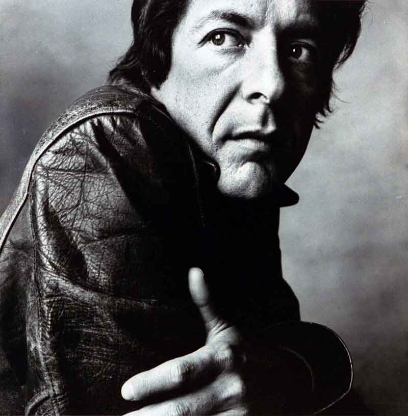 Leonard Cohen, cantautor, Montreal, 1934-2016