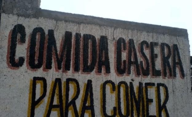 Comida casera - Letrero nº 65 Poesía Visual anónima