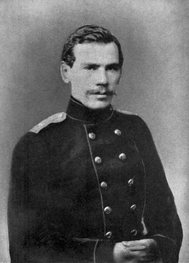 Lev Tolstói joven