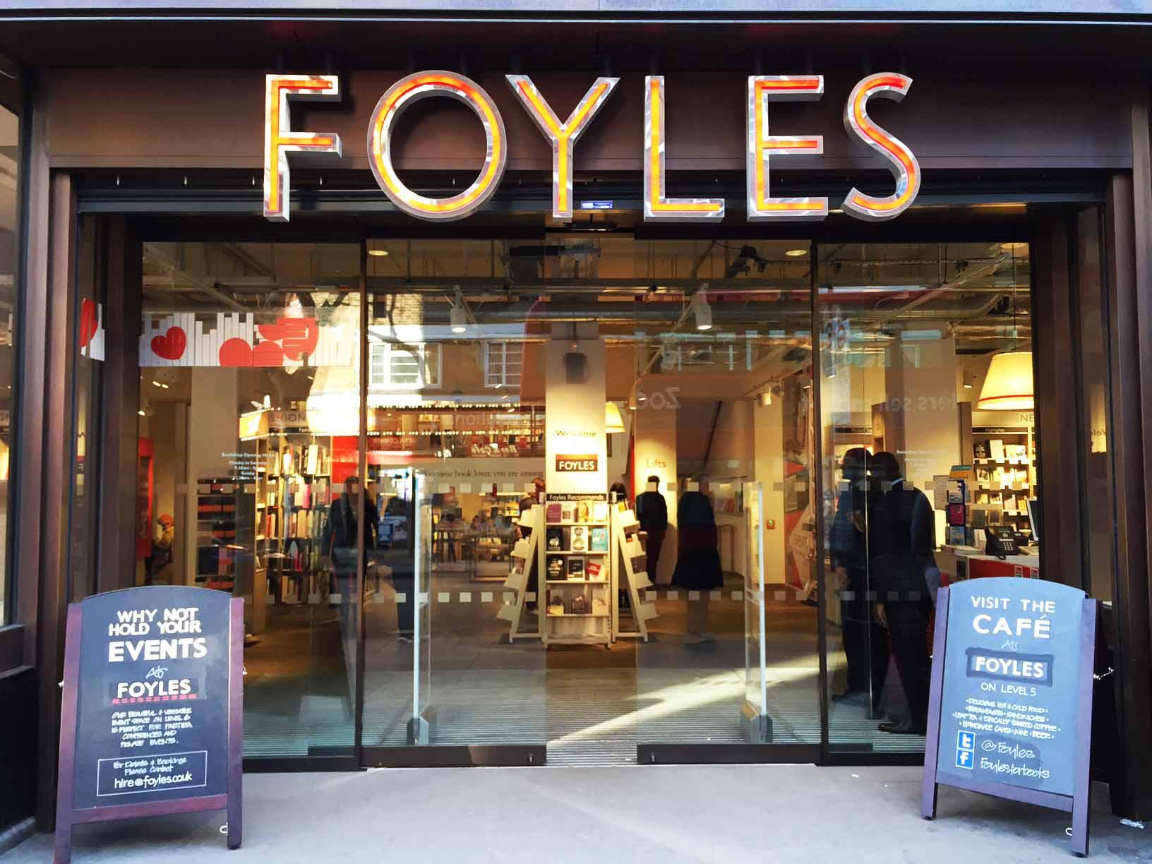 Librería FOYLES (Londres)