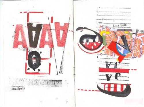 Litsa Spathi, poeta visual