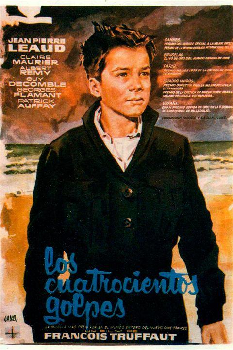 Los cuatrocientos golpes de Francois Truffaut, 1959