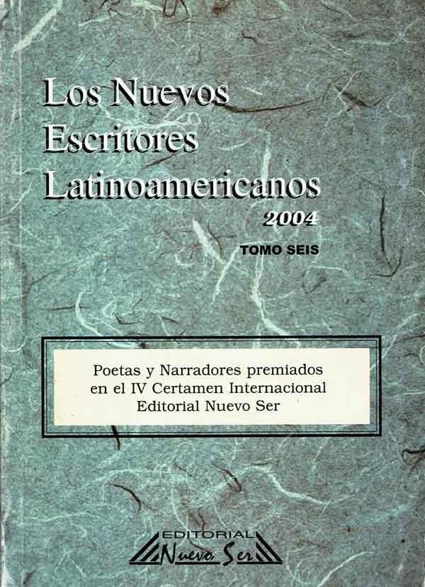 Antología nuevos escritores latinoamericanos