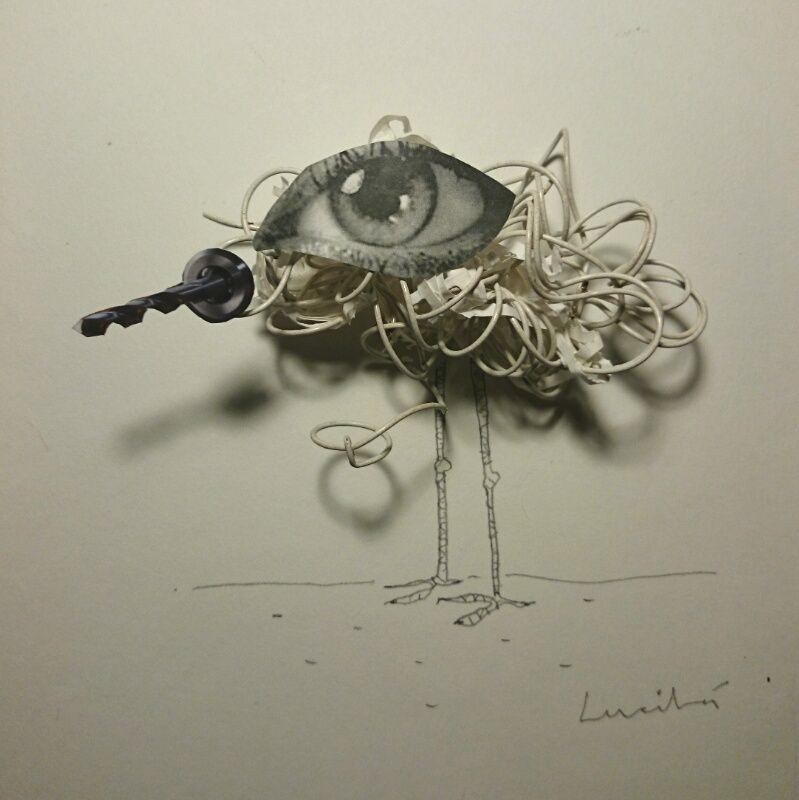 Poesía Visual de Lucila