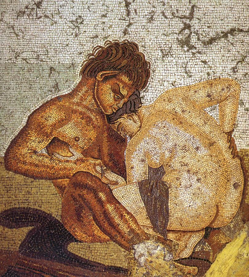 Frescos eróticos de Pompeya