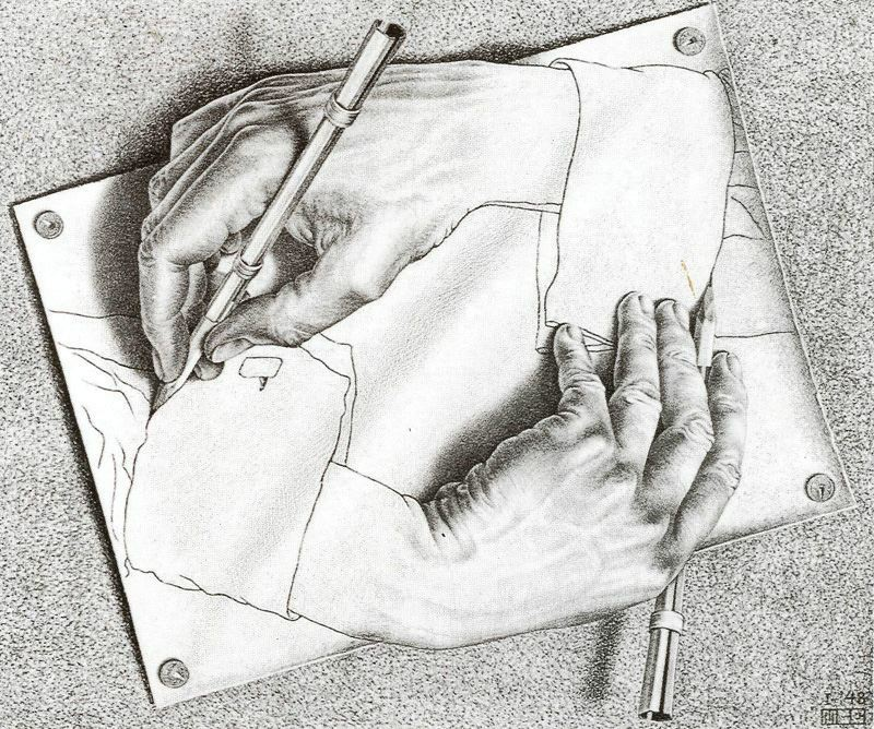 Poesía Visual de M.C. Escher