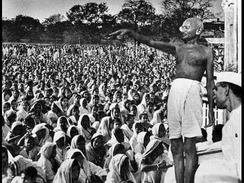 Discurso de Mahamat Gandhi