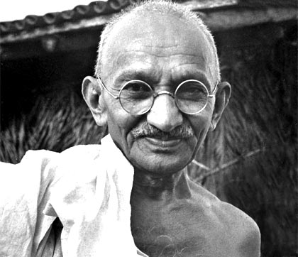 Sigmund Freud, Nelson Mandela, Mahatma Gandhi