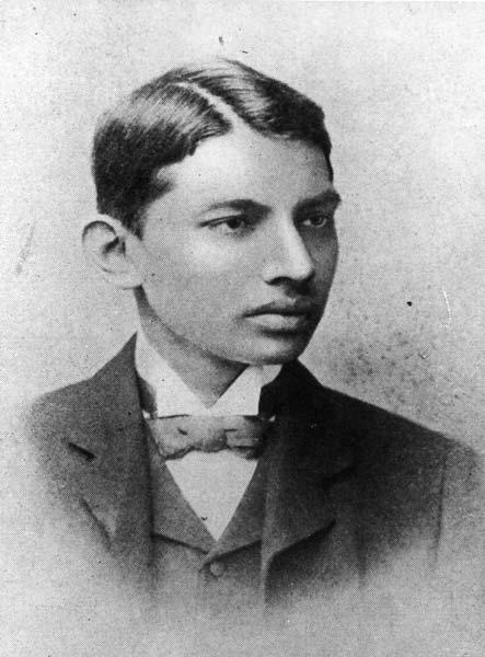 Mahatma Gandhi joven