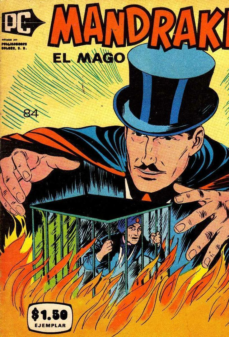 Comic Mandrake el Mago