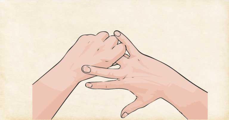 Las manos y el cuerpo