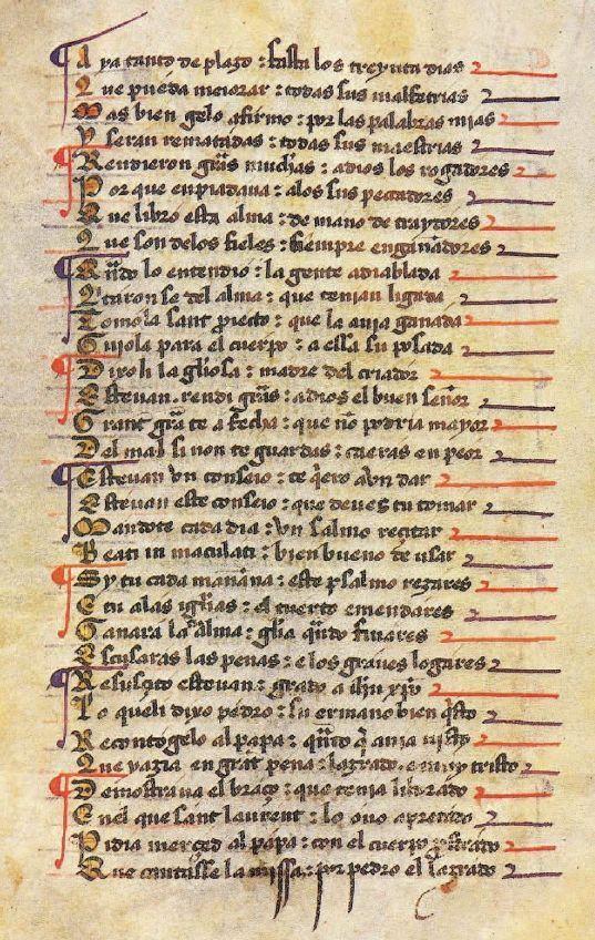 Gonzalo de Berceo, poeta