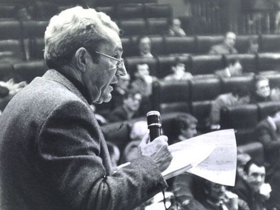 """""""Amnistía de 1977"""" discurso de Marcelino Camacho pronunciado el 14 de octubre de 1977"""