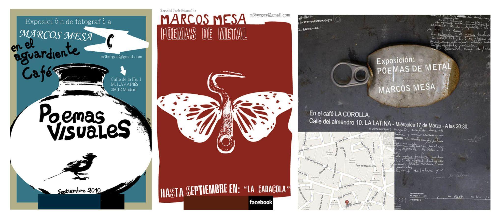 Marcos Mesa, poeta visual