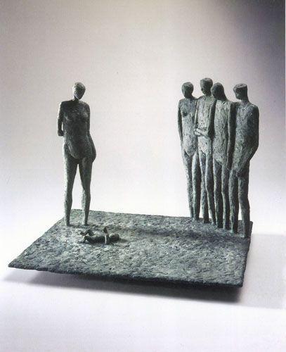 Escultura de Mario Irarrazabal