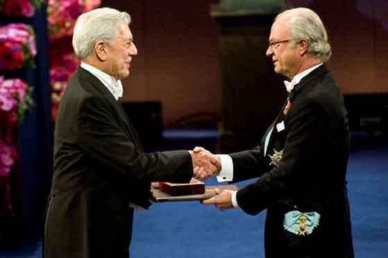 Discurso de Mario Vargas Llosa al recibir el premio Nobel de Literatura el 7 de diciembre de 2010
