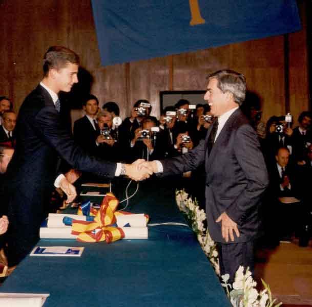 Discurso de Mario Vargas Llosa al recibir el Premio Príncipe de Asturias de las Letras de 1986
