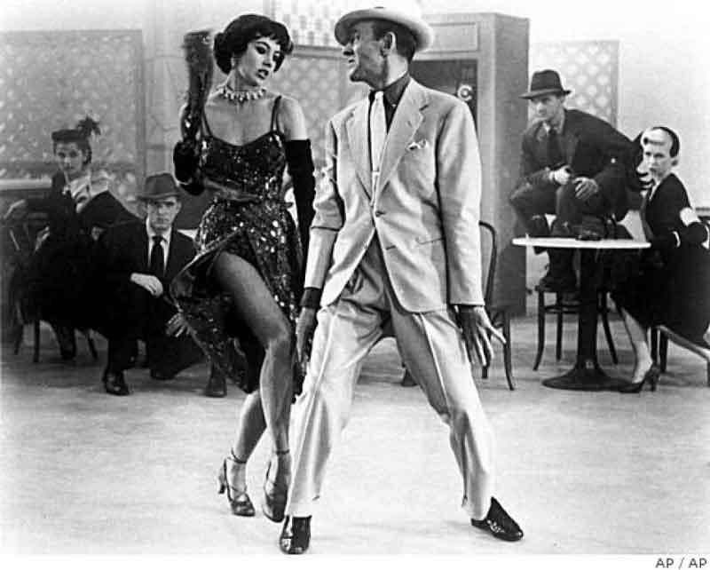 Fred Astaire y Cyd Charisse en Melodías de Broadway (Vincente Minnelli, 1953)