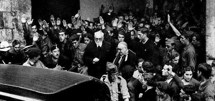 Discurso de Miguel de Unamuno en la Universidad de Salamanca el 12 de octubre de 1936
