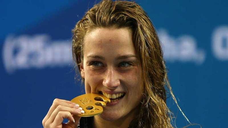 Mireia Belmonte, medallas de oro