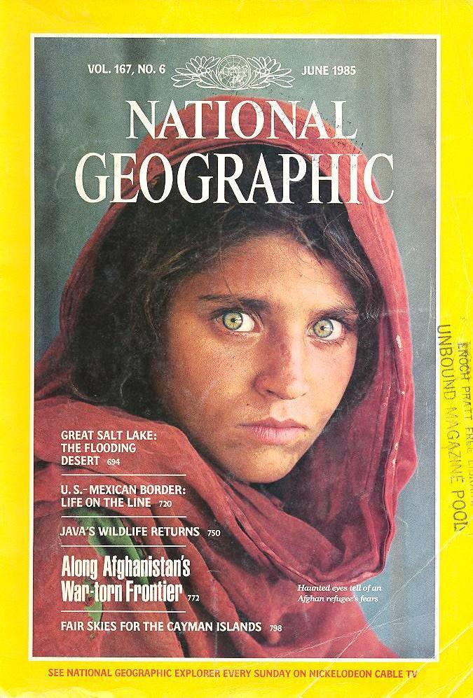 National Geographic (Junio de 1985) Portadas revistas