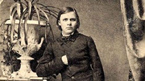Friedrich Nietzsche joven