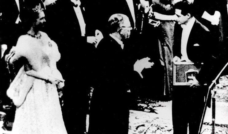 Discursos aceptación Premio Nobel de Literatura de 1956 otorgado a Juan Ramón Jiménez
