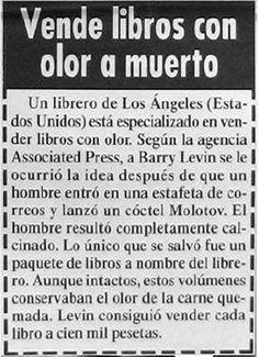 Noticias en los medios de comunicación - Poesía Visual anónima