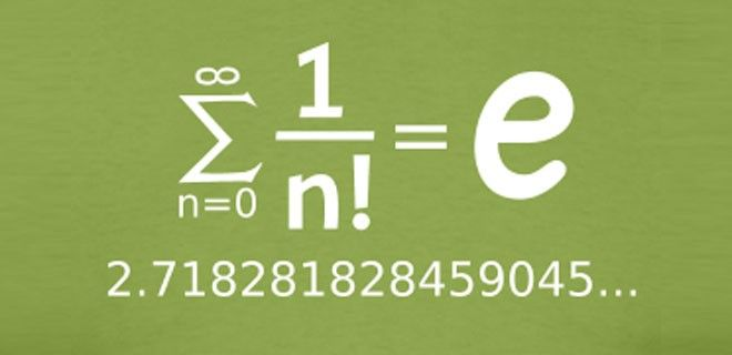 Número e de Leonhard Euler