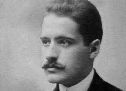 José Ortega y Gasset joven