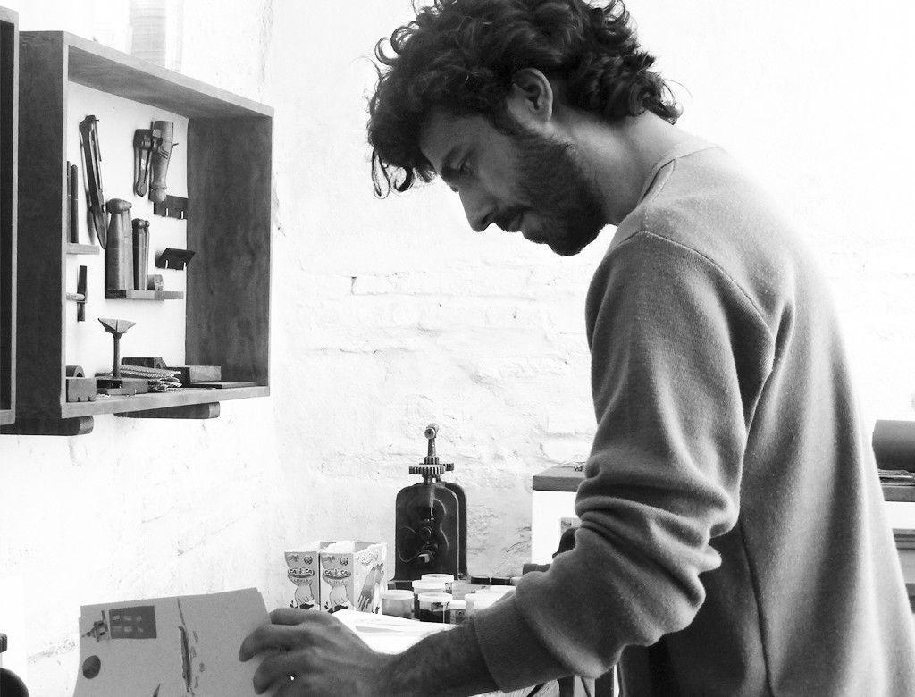 Pablo Caracol, poeta visual