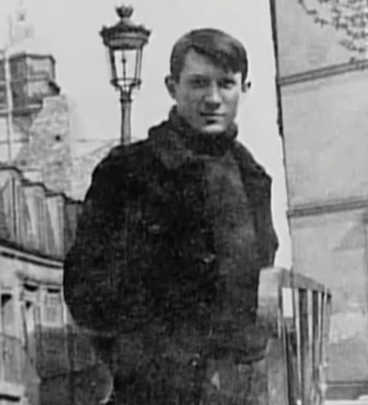 Pablo Picasso joven