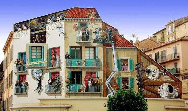 Arte urbano de Patrick Commeny